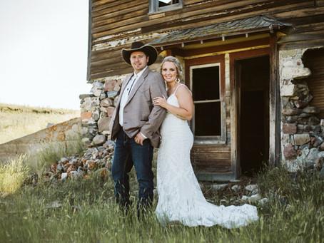 Mr. & Mrs. Girodat - Saskatchewan Wedding