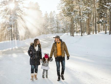 Ender, Yennifer & Avril - Casper Mountain Family Session