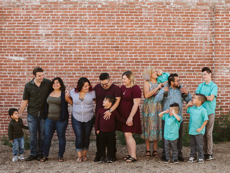 Cruz Family Session - Medicine Hat