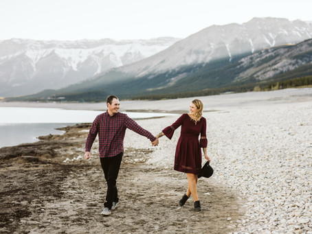 Carlyn & Brandon - Central Alberta Engagement Session