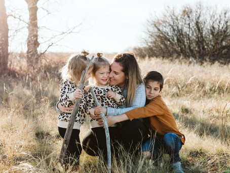 Wright Family - Medicine Hat Family Session