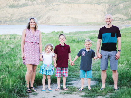 Ward Family - Medicine Hat, Alberta
