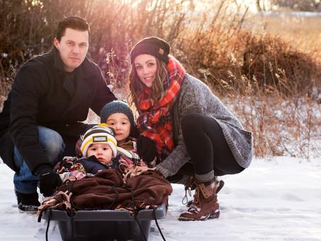 Sprunger Family - Medicine Hat, AB