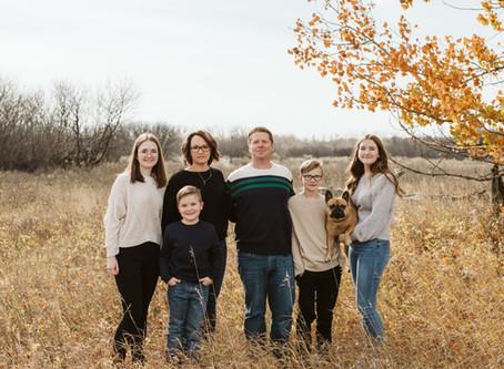 Kreuger Family - Medicine Hat Family Session