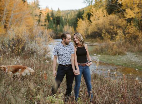 Chelsea & Austin - Alberta Couples Session