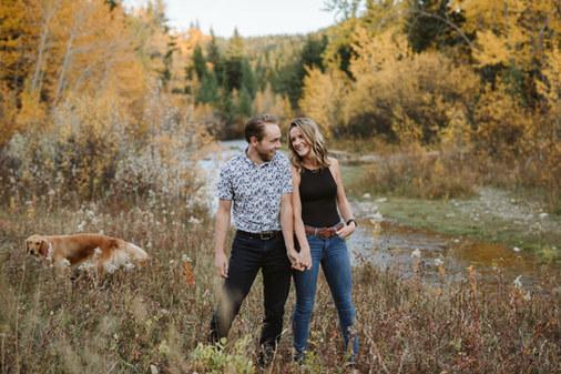 Red Deer Engagement Photographer