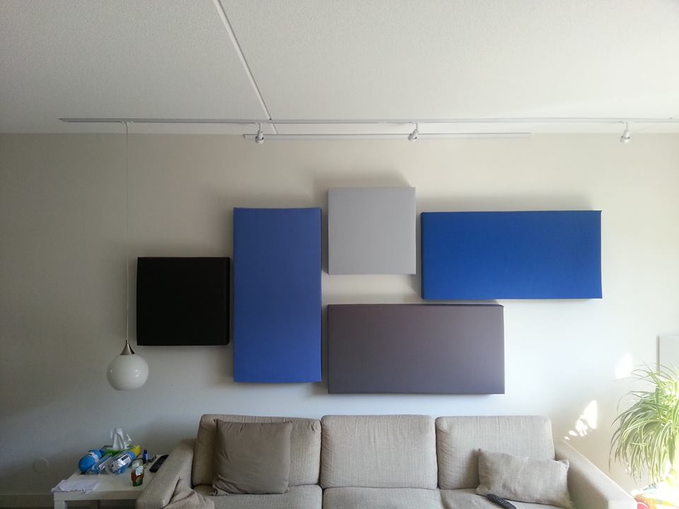 Acoustical Panel Display