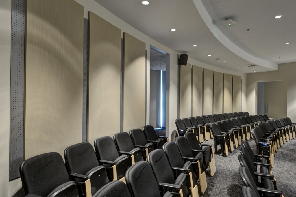 Acoustical Panels in Auditorium
