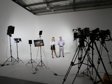 Reverb in the TV studio…