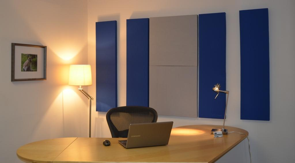 Acoustical Panels in Office