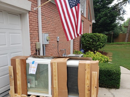 Our Sound Proof Atlanta (SPA) Windows are Made in America!!