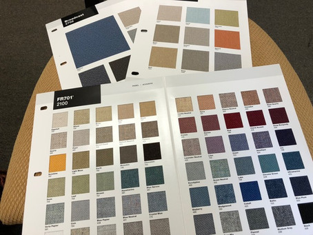 Did You Know that Acoustical Panels Come in an Assortment of Colors!!?