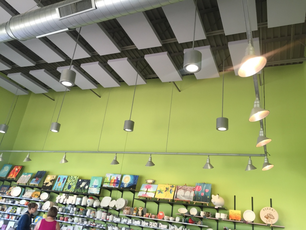 Acoustical Panels in Store