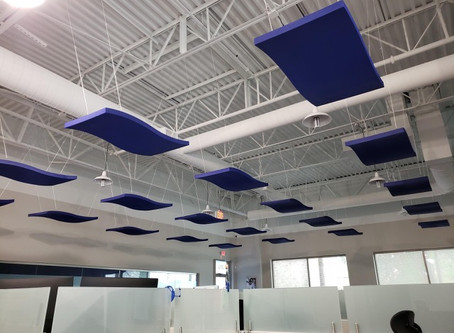 Acoustical Panels Come in All Shapes, Sizes, and Colors