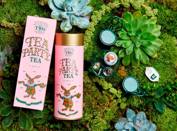 「Tea Paty Tea」リニューアル 新発売