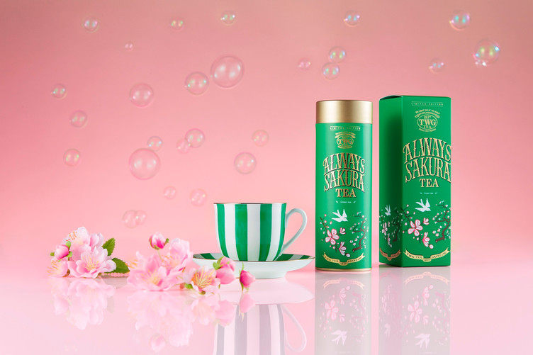 「Always Sakura Tea」好評発売中