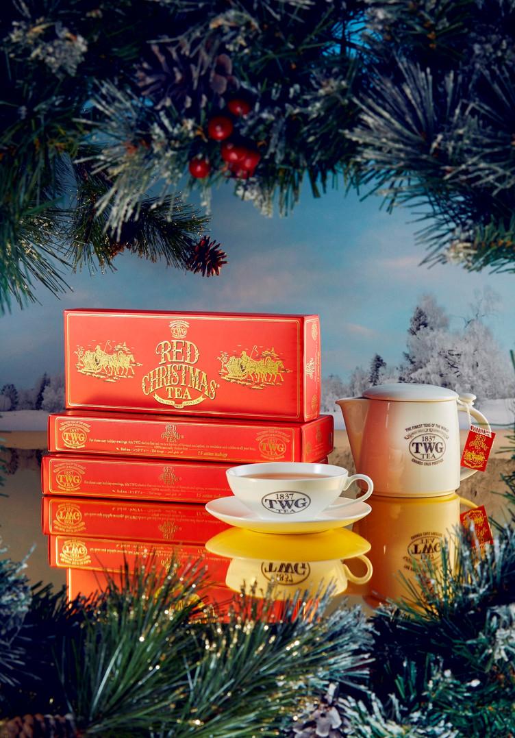 Red Christmas Tea ティーバッグも好評発売中