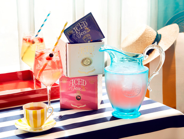 夏を彩る Iced Teabag Collection