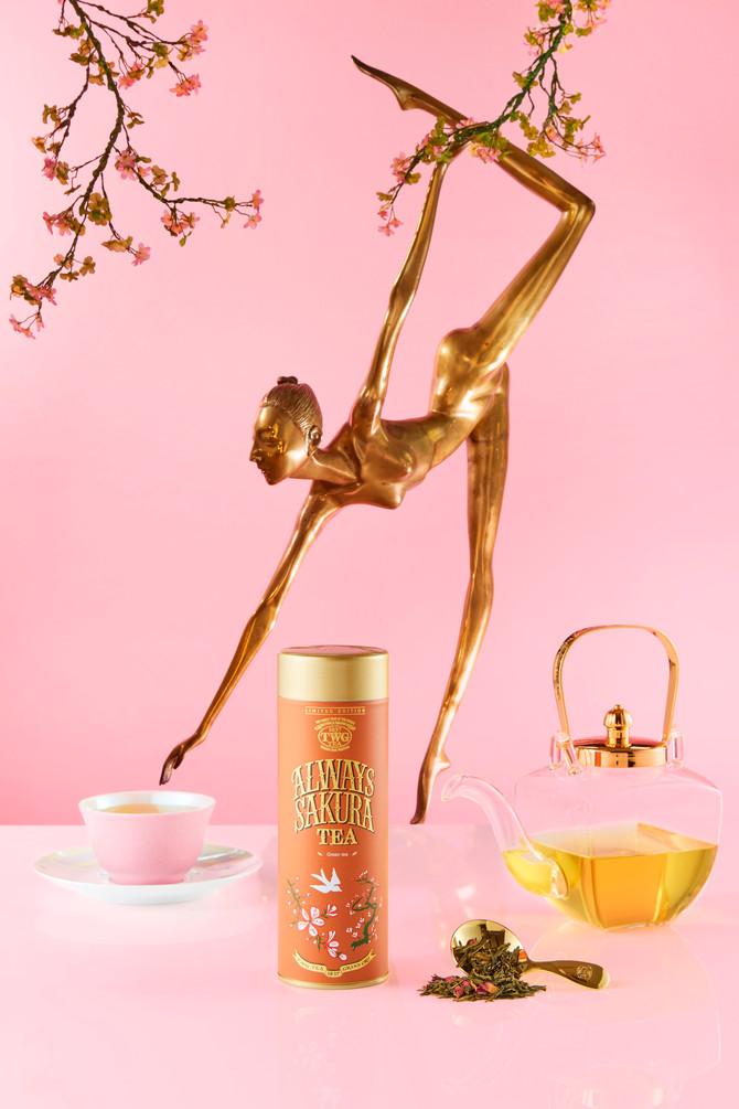 新たな季節の始まりを Always Sakura Tea と一緒に