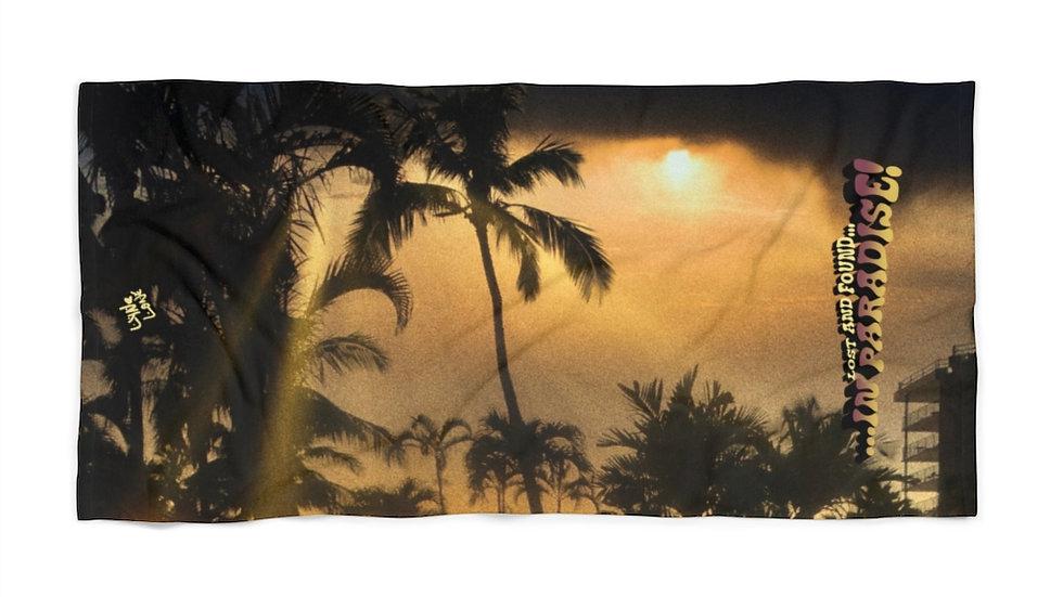 Lost & Found Beach Towel