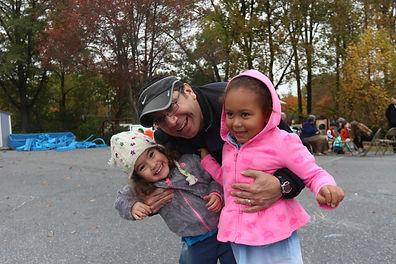 ECC Parents at Annual Fall Festival