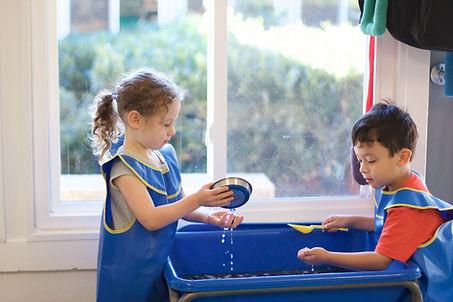 Learning through play at ECC