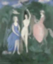 Marie_Laurencin-Les_trois_graces_1921_.j