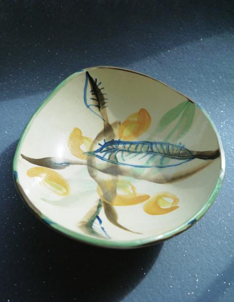 Watery flower Bowl
