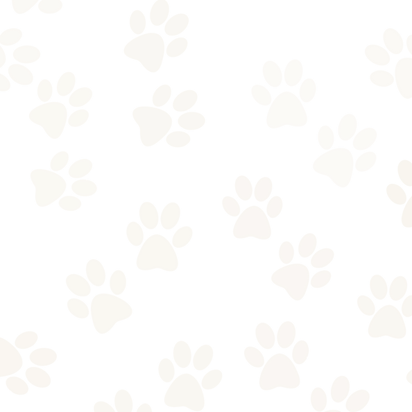 Graphic of paw prints for the background of the website