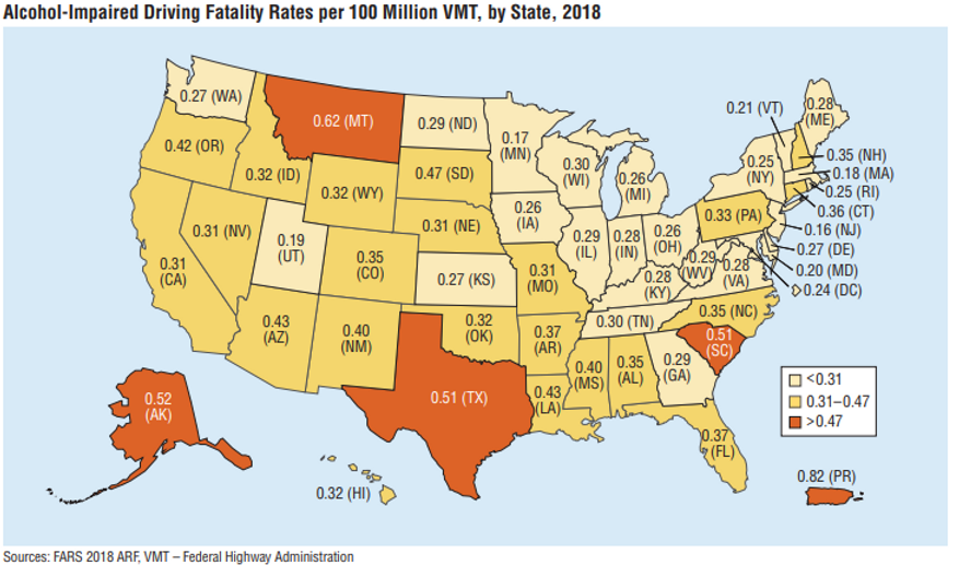 Alcohol-Impaired Driving Fatality Rates