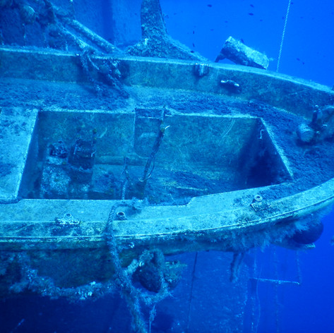 One of the Lifeboats on the Zenobia