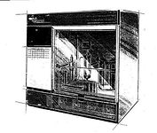 Custom Metal Cabinet Design by Industrial Engineer - Laboratory Environmental Chamber - Designer Sketch