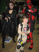 Domino, Deadpool & Venkman go to C4, 2010