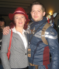 Peggy Carter & Steve Rogers of Costume Alliance