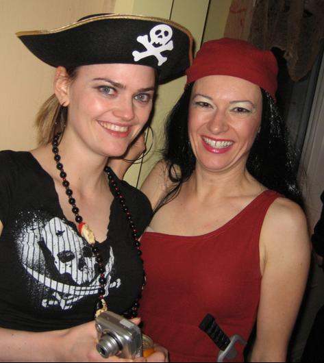 Pirate Lisa & Elektra 2007.