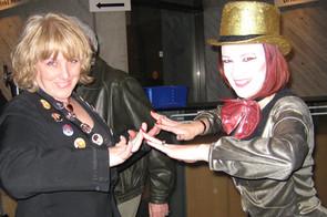2 Columbias at MTC Rocky Horror Show