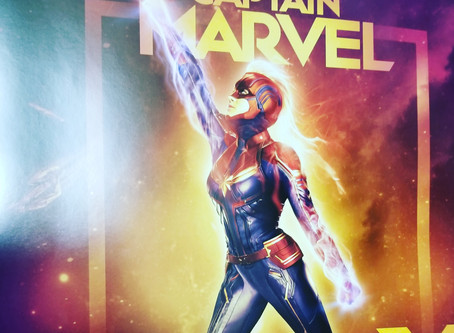 Captain Marvel, IWD 2019, and the Superhero within.