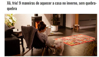 9 Maneiras de aquecer a casa no inverno