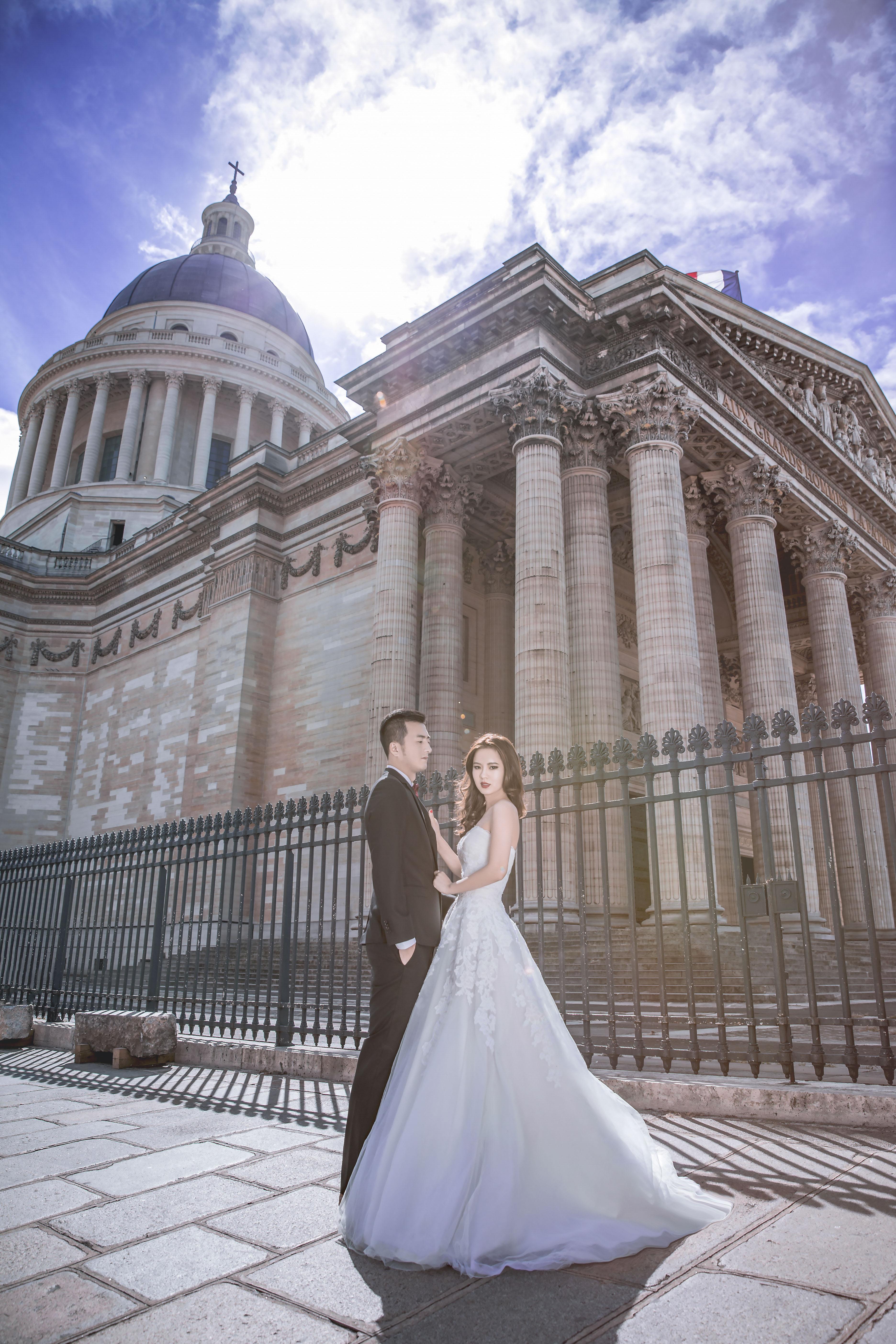 巴黎拍婚紗 巴黎鐵塔婚紗 歐洲旅拍