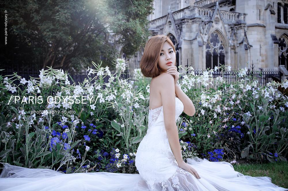 巴黎拍婚紗  巴黎婚紗照 海外婚紗
