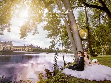 巴黎拍婚紗:景點攻略(7) 楓丹白露宮