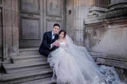 巴黎拍婚紗 巴黎鐵塔