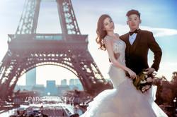 巴黎鐵塔拍婚紗 巴黎拍婚紗 海外婚紗