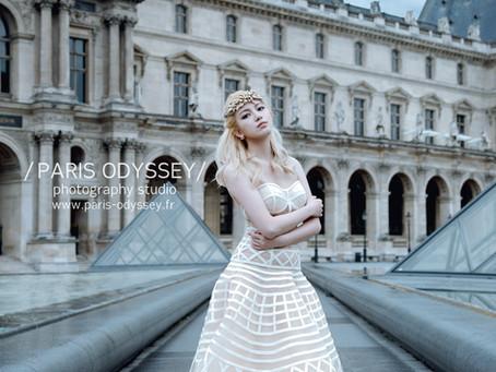 巴黎拍婚紗:景點攻略(2) 羅浮宮