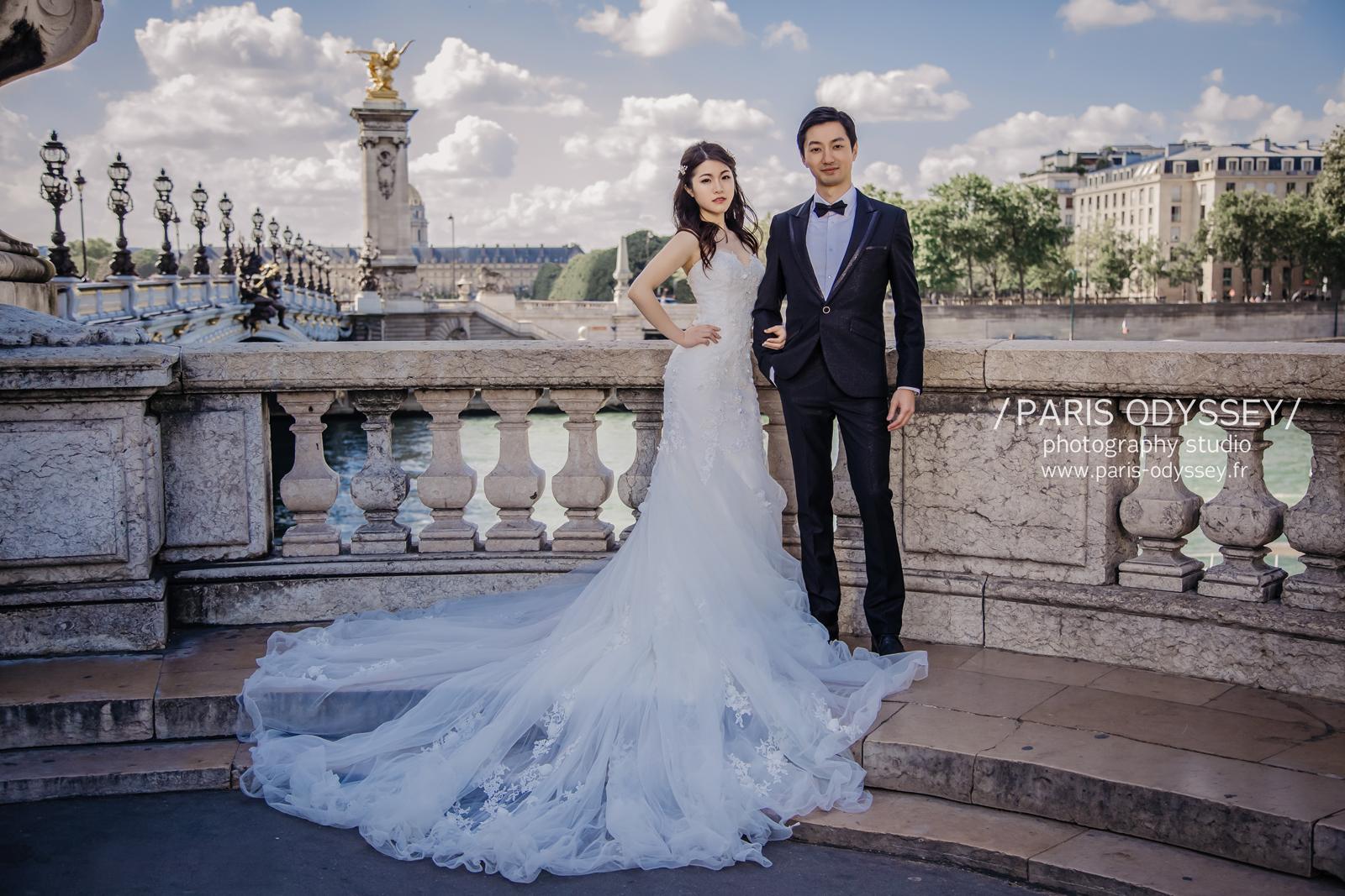 巴黎婚紗 巴黎拍婚紗 巴黎婚照