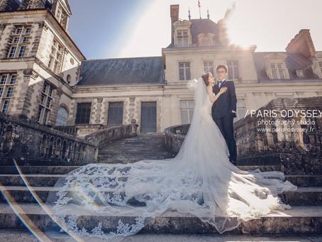 巴黎拍婚紗:關於後續選片,交件,和加急件。