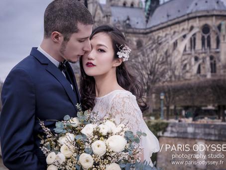 巴黎拍婚紗:為什麼我們工作室沒有純攝影的套組?