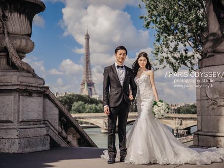 巴黎拍婚紗:景點攻略(3) 亞歷山大三世橋