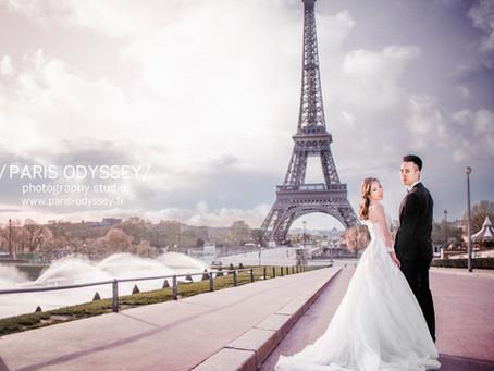 巴黎拍婚紗:景點攻略(1) 巴黎鐵塔-2