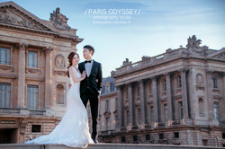 巴黎 拍婚紗